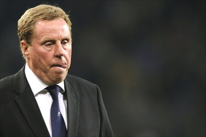 Spurs manager Harry Redknapp was clearly disappointed with his team's first half showing