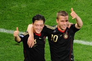 Who loves playing for Germany?