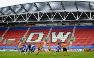 Wigan cannot attract the large crowds that their rugby league team get