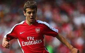 Arsenal youngster Jack Wilshere