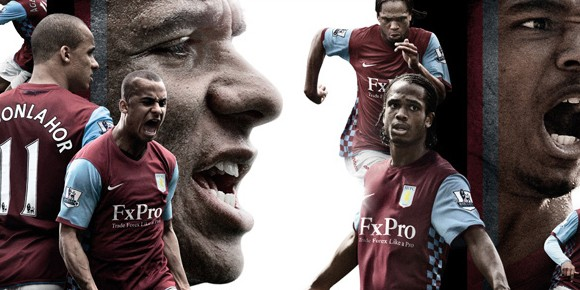 Aston Villa Home Kit 10/11 Nike