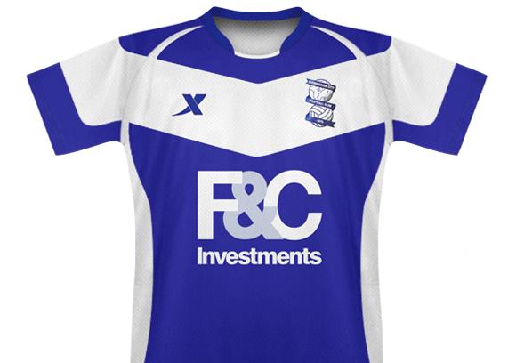 Birmingham City 10/11 Home Kit