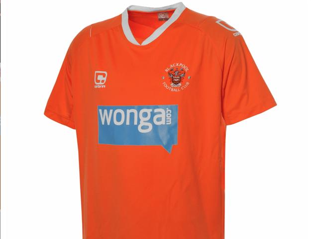 Blackpool Home Kit 10/11