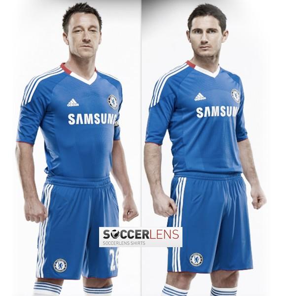 Chelsea 2010-2011 Home Kit Adidas
