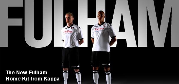Fulham Home Kit 10/11
