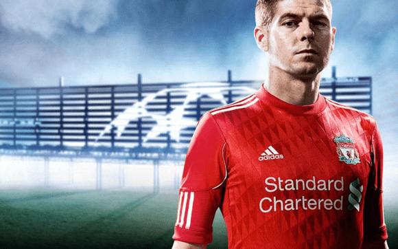 Liverpool Home Kit 10/11 Adidas