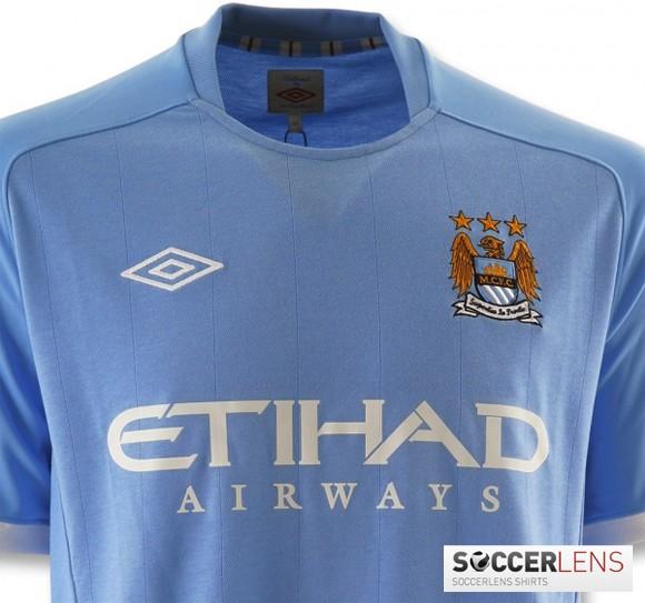 Manchester City Home Kit 10-11 Umbro