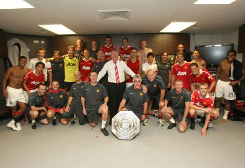 The team and backroom staff for the upcoming season