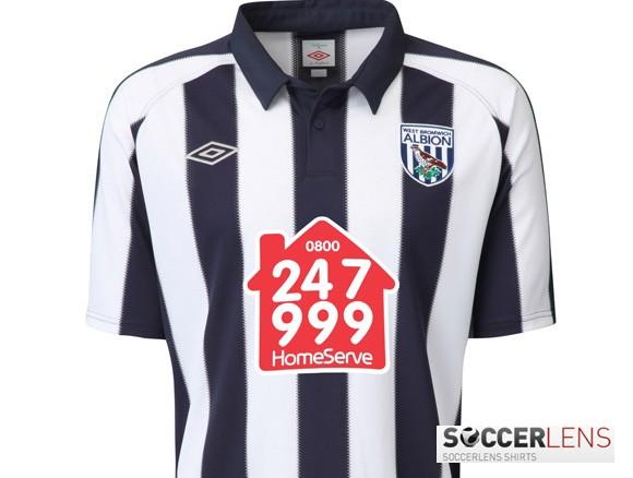 West Brom 10-11 Home Shirt Umbro