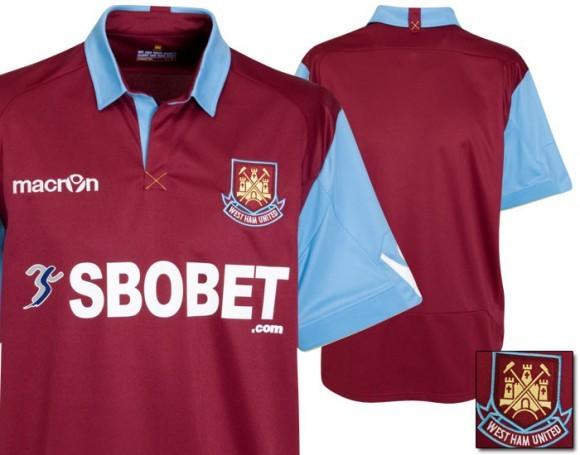 West Ham 10-11 Home Kit