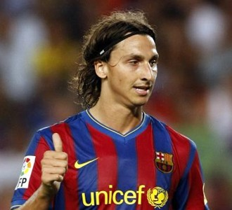 Zlatan Ibrahimovic Barcelona 2010
