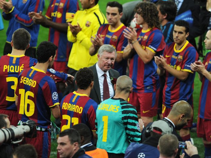 Ferguson is still to solve the Barca puzzle.
