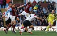 Vidic goal v Villa