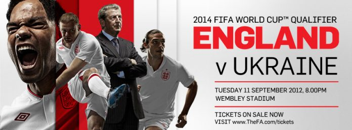 England tickets promo