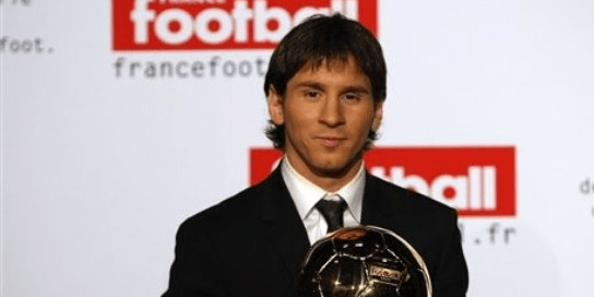 Lionel Messi - Ballon d'Or