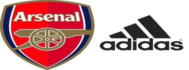 arsenal adidas logos