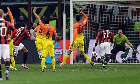 Boateng scores against Barcelona