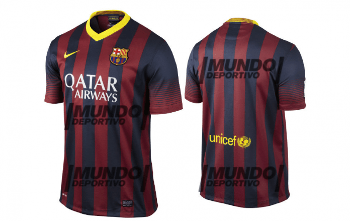 2013-14 barcelona shirts