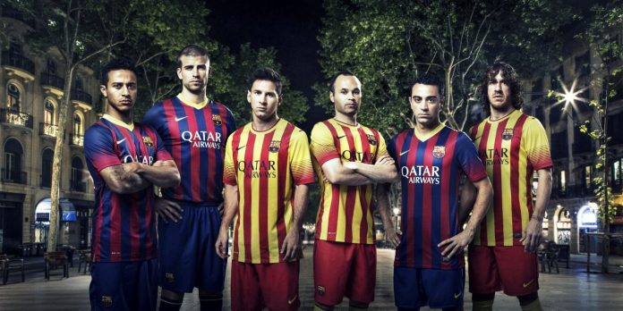 cheap for discount f7f52 ac607 Nike's Barcelona home and away kits for 2013/14 | Sportslens