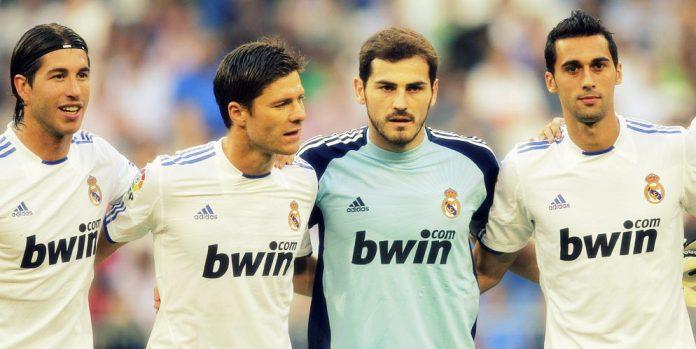 Real Madrid - Ramos, Alonso, Casillas, Arbeloa