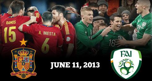 Spain vs Republic of Ireland
