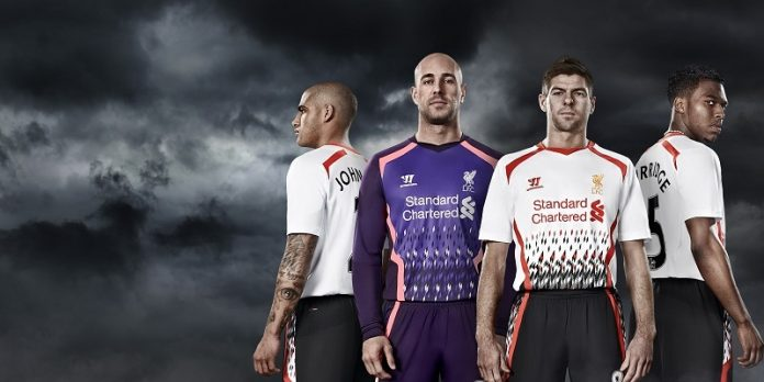 Liverpool 13-14 away kit
