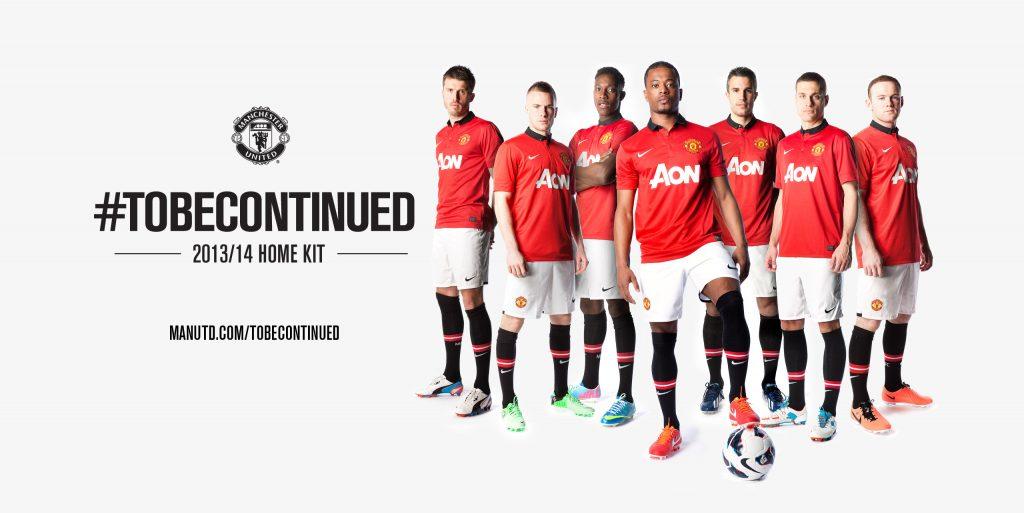 Manchester United 2013-14 home kit