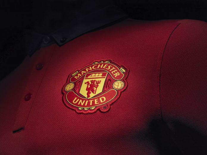 Manchester United 2013-14 home kit - Crest