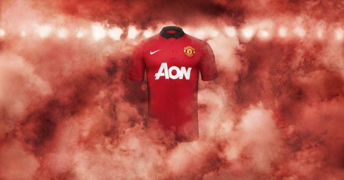 Manchester United 2013-14 home kit - Shirt GFX