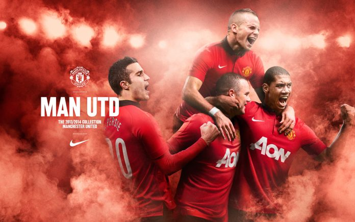 Manchester United 2013-14 home kit WP