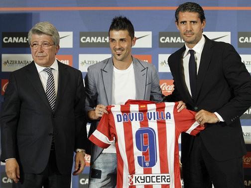 New Atletico Man David Villa