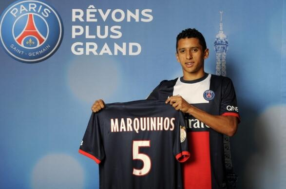 PSG defender Marquinhos is a target for Chelsea