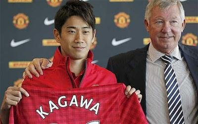 Shinji-Kagawa joins Manchester United
