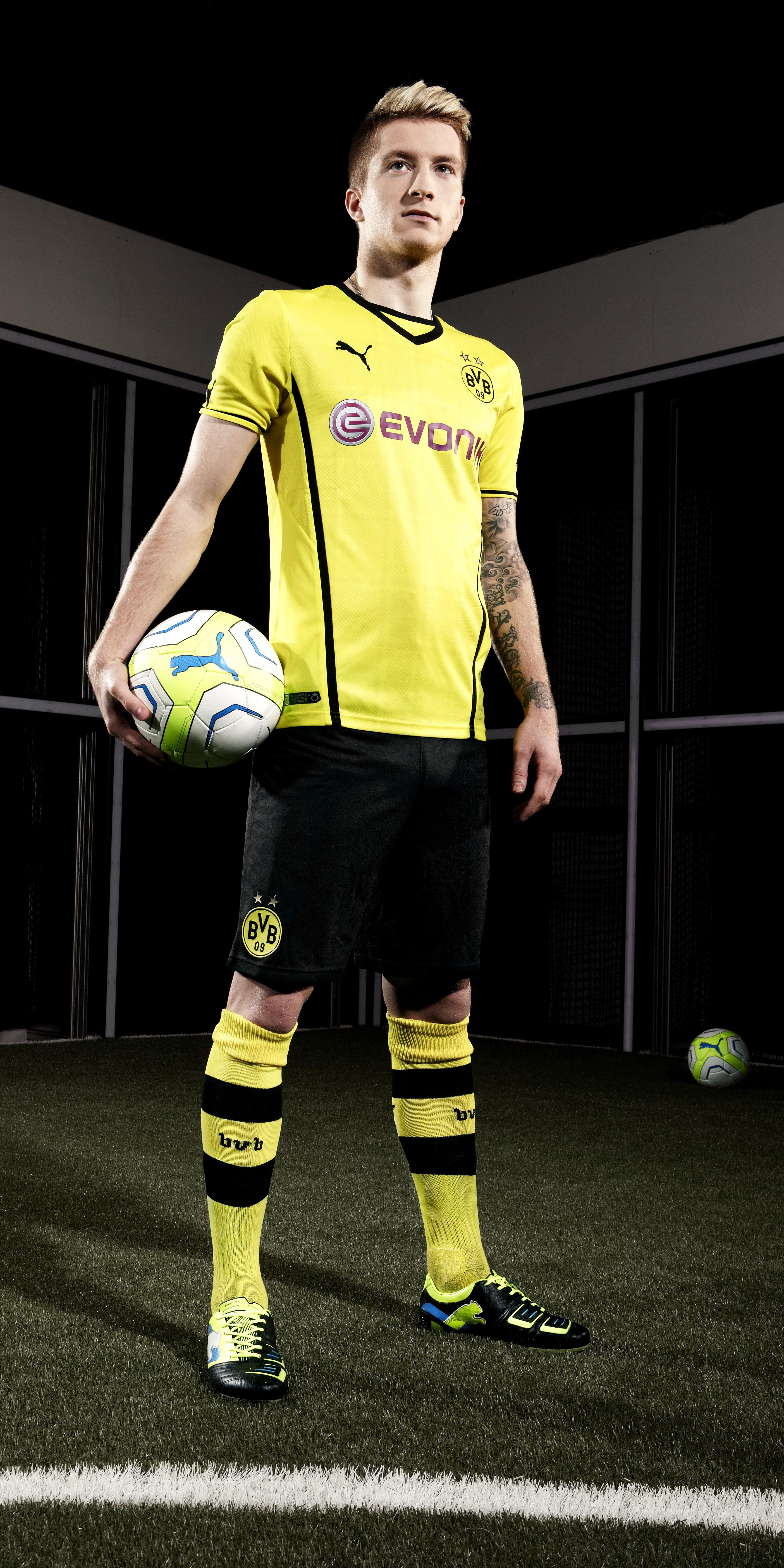 Borussia Dortmund 2013-14 kits