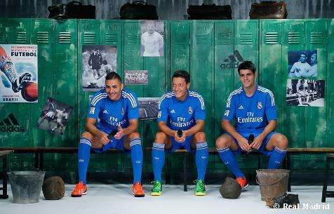 Real Madrid away kit 2013/14