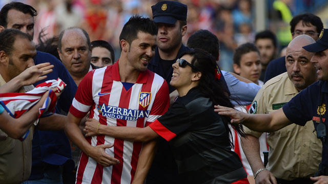 David Villa: 'Premier League clubs lacked Atlético Madrid's personal touch' - video