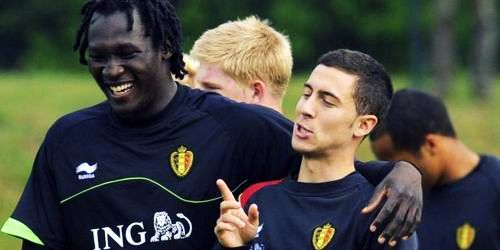 Lukaku. Hazard - Belgium