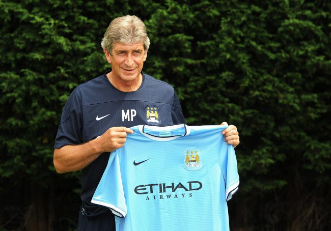 New Manchester City manager Manuel Pellegrini