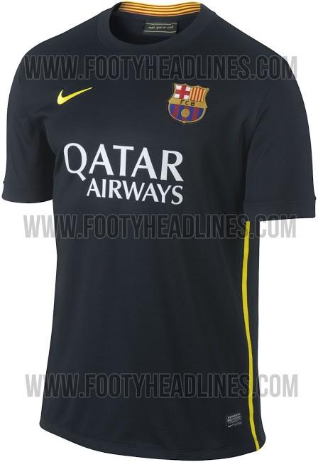 Barcelona 2013-14 Third kit