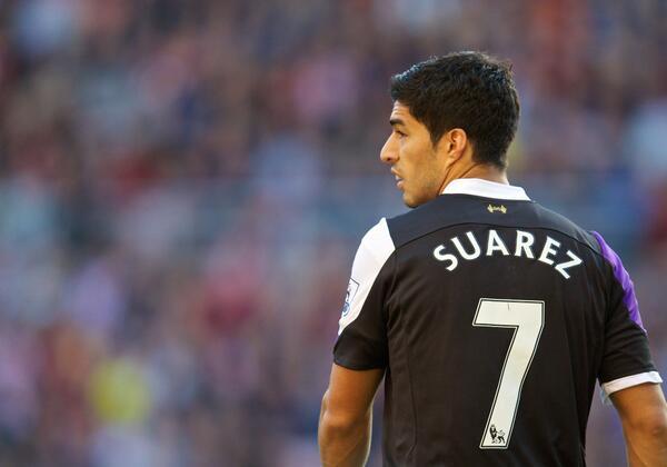 Suarez in his first Premier League match of the season scored a brace