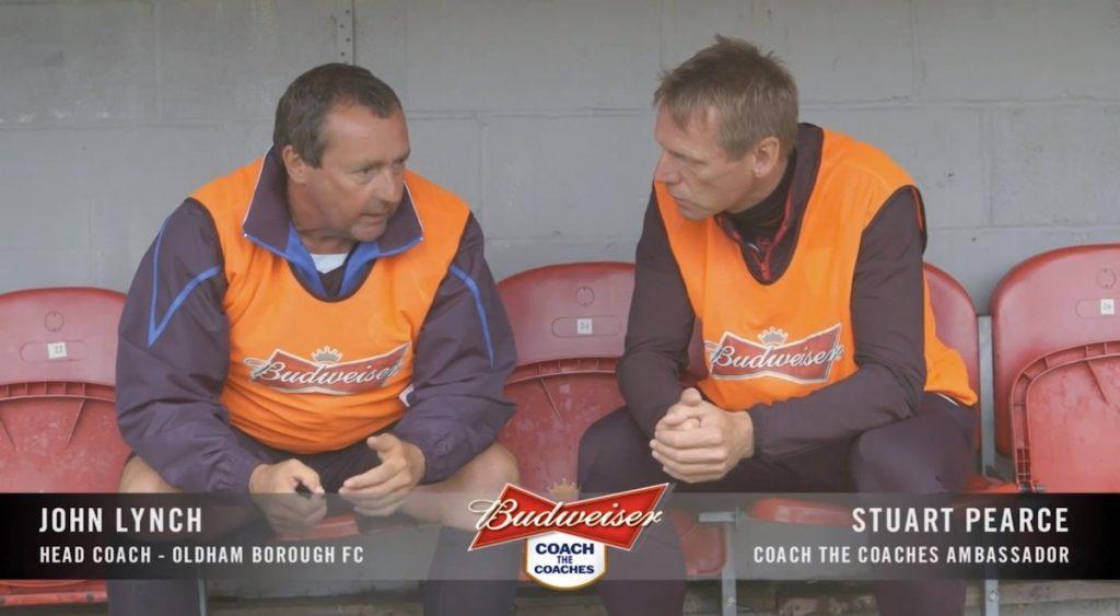coach the coaches Stuart Pearce
