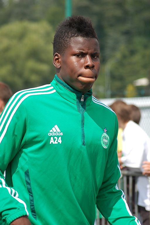 Kurt Zouma plays for Saint-Etienne. KevFB.