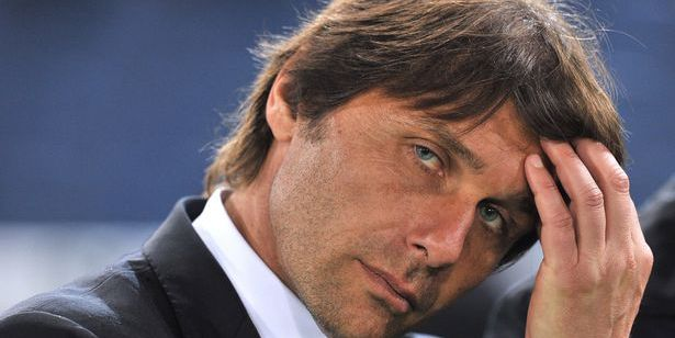 Antonio Conte reacts after the Cup of Italy Juventus vs Napoli at the Olympic Stadium-1202143