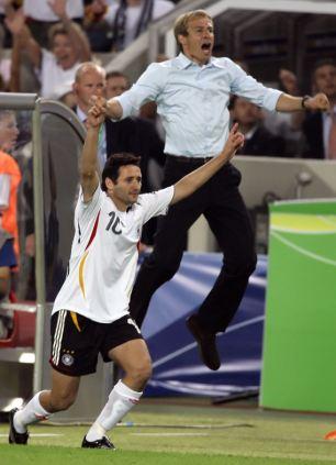 German head coach Juergen Klinsmann (R)