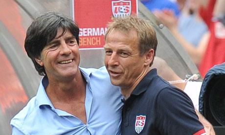 Jürgen Klinsmann praises Clint Dempsey after USA beat Germany - video