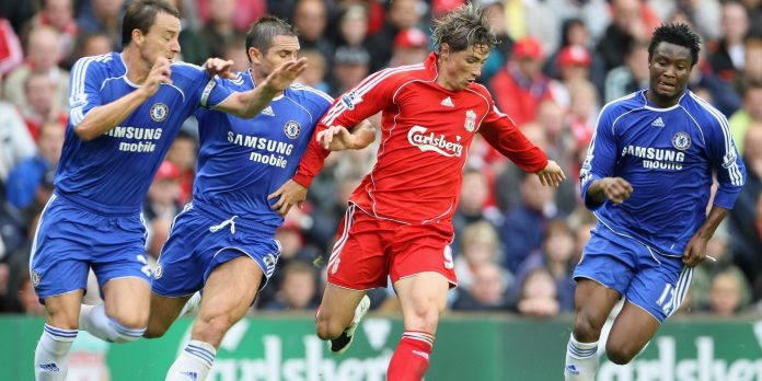Liverpool Vs Chelsea, Fernando Torres, Frank Lampard, John Terry