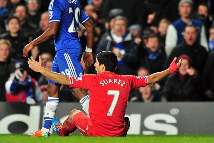 Liverpool's Uruguayan striker Luiz Suare
