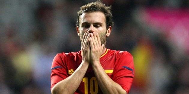 Juan Mata scored for Spain in their 1-0 win