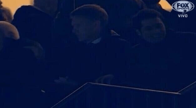 Moyes was spotted watching Koke