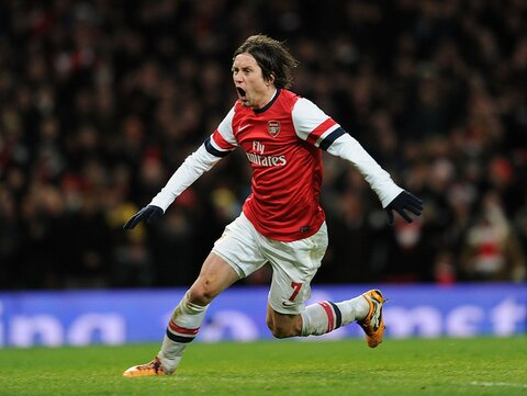 Arsenal Injury News: Rosicky has struggled with injuries during his time at Arsenal